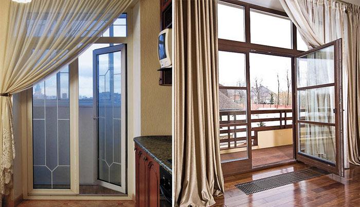 Балконная дверь с окном практика - работа и опыт профессиона.